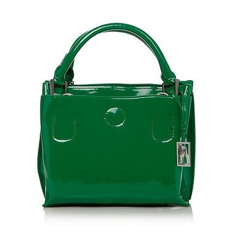 Principles by Ben de Lisi - Designer green patent three part grab bag