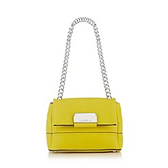 Star by Julien Macdonald - Yellow chain cross body bag