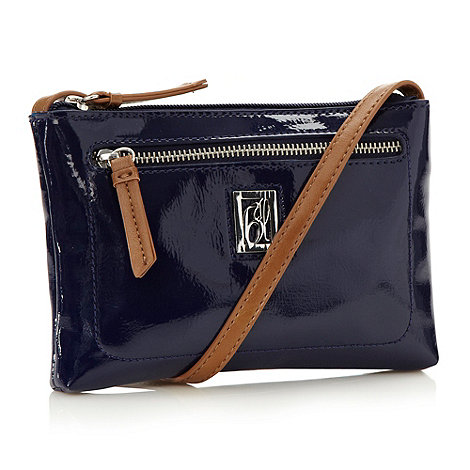 Principles by Ben de Lisi - Designer navy mini across body bag