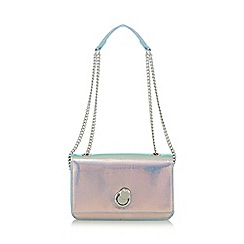 Star by Julien Macdonald - Multi coloured iridescent chain body bag