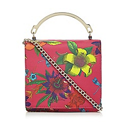 Star by Julien Macdonald - Pink floral print small box bag