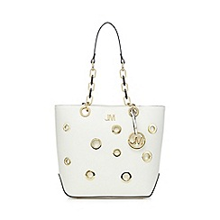 Star by Julien Macdonald - White eyelet shoulder bag