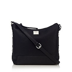 Principles by Ben de Lisi - Black side stud cross body bag