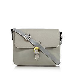 Principles by Ben de Lisi - Grey buckle cross body bag