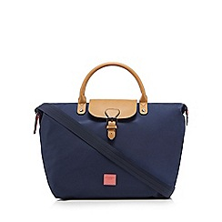Principles by Ben de Lisi - Navy buckle detail tote bag
