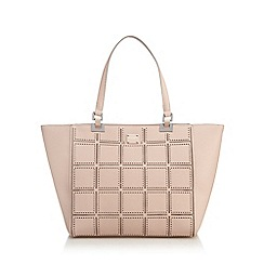 Principles by Ben de Lisi - Pink cut-out shopper bag