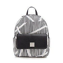 Principles by Ben de Lisi - White patterned backpack