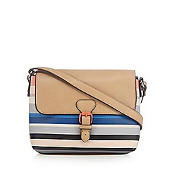Principles by Ben de Lisi - Multi-coloured striped cross body bag