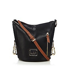 Principles by Ben de Lisi - Black zip detail duffle bag
