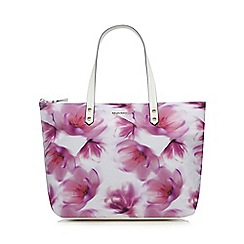 RJR.John Rocha - Pink floral print tote bag