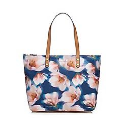 RJR.John Rocha - Navy floral print tote bag