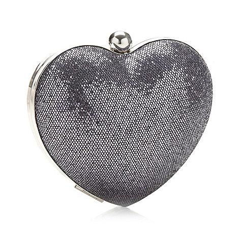 Faith - Metallic glitter heart bag