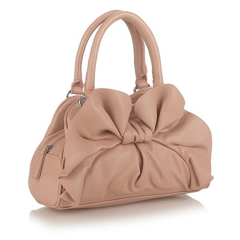 The Collection - Light pink bow small grab bag