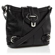 Black 'twiggy' cross body bag