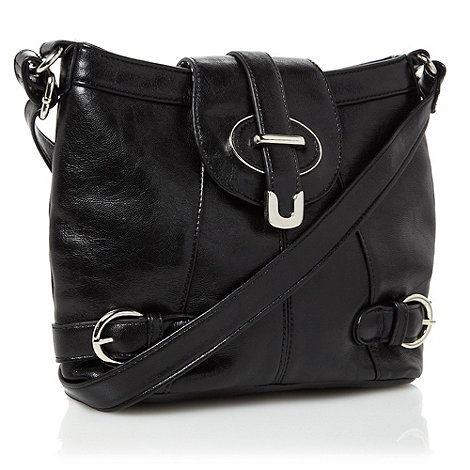 The Collection - Black +twiggy+ cross body bag