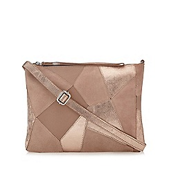 Nine by Savannah Miller - Light pink patchwork cross body bag