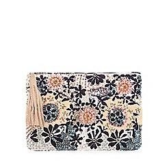Nine by Savannah Miller - Multi-coloured beaded clutch bag