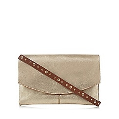 Nine by Savannah Miller - Gold metallic cross body bag