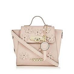Floozie by Frost French - Light pink flower applique mini cross body bag