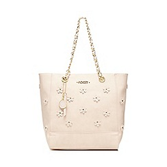 Floozie by Frost French - Light pink flower applique tote bag