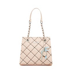 Floozie by Frost French - Pink quilted chain handle grab bag
