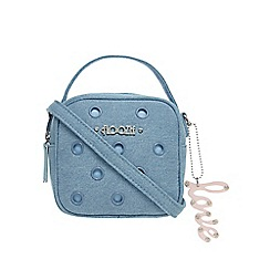 Floozie by Frost French - Light blue denim eyelet small box grab bag