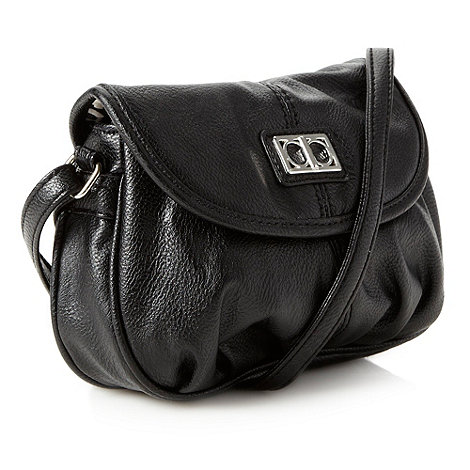 The Collection - Black pouch across body bag