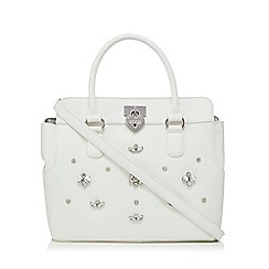 Floozie by Frost French - White gem detail tote
