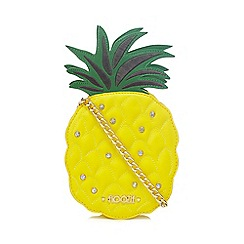 Floozie by Frost French - Yellow pineapple cross body bag