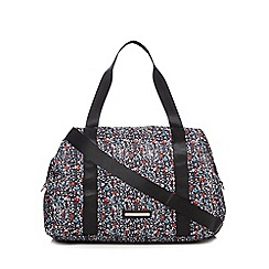 Red Herring - Multi-coloured floral print holdall bag