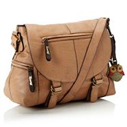 Light Tan Soft Leather Satchel