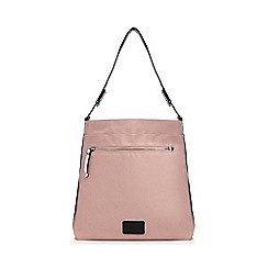 Red Herring - Pink tipped shoulder bag