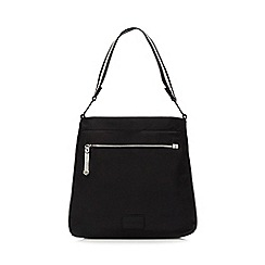 Red Herring - Black tipped shoulder bag