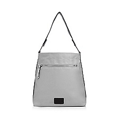 Red Herring - Grey tipped shoulder bag