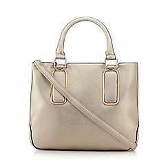 Call It Spring - Metallic 'Maodien' tote bag