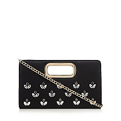 Call It Spring - Black 'Dainty' clutch bag
