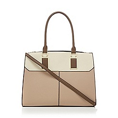 Call It Spring - Taupe 'Gaurwen' tote bag