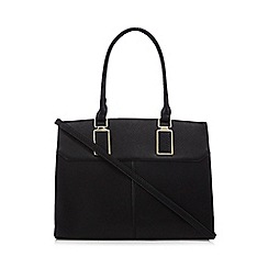 Call It Spring - Black 'Gaurwen' structured tote bag