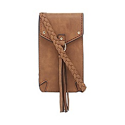 Call It Spring - Tan 'Semelano' cross-body bag