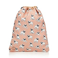 Mi-Pac - Peach pug kit bag