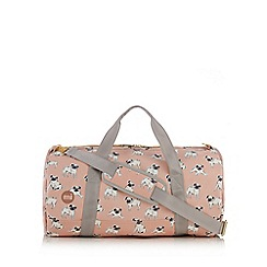 Mi-Pac - Pink pug print duffle bag