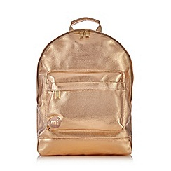Mi-Pac - Rose gold backpack