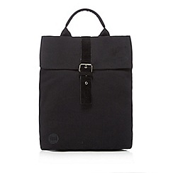 Mi-Pac - Black textured backpack