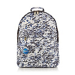 Mi-Pac - White paint splash backpack