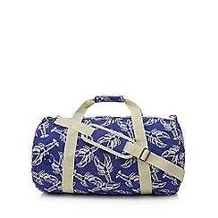 Mi-Pac - Blue lobster print duffle bag