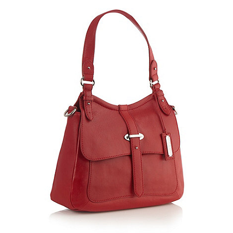 Bailey & Quinn - Red leather +somerset+ large shoulder bag
