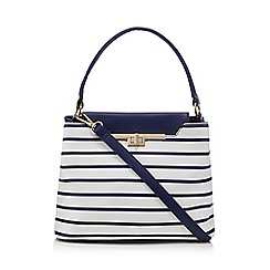 LYDC - Navy and white striped grab bag