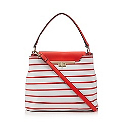 LYDC - Red and white 'Ahoy Sailor' grab bag