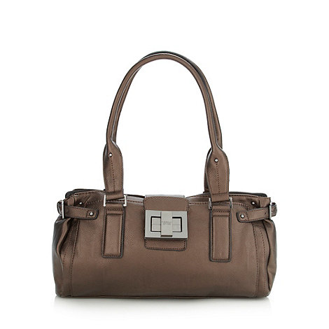 Fiorelli - Bronze zip buckle shoulder bag