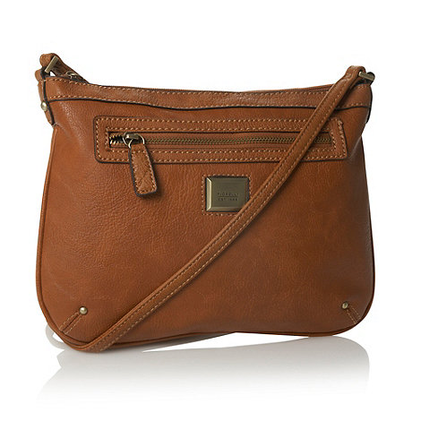 Fiorelli - Tan leatherette across body bag